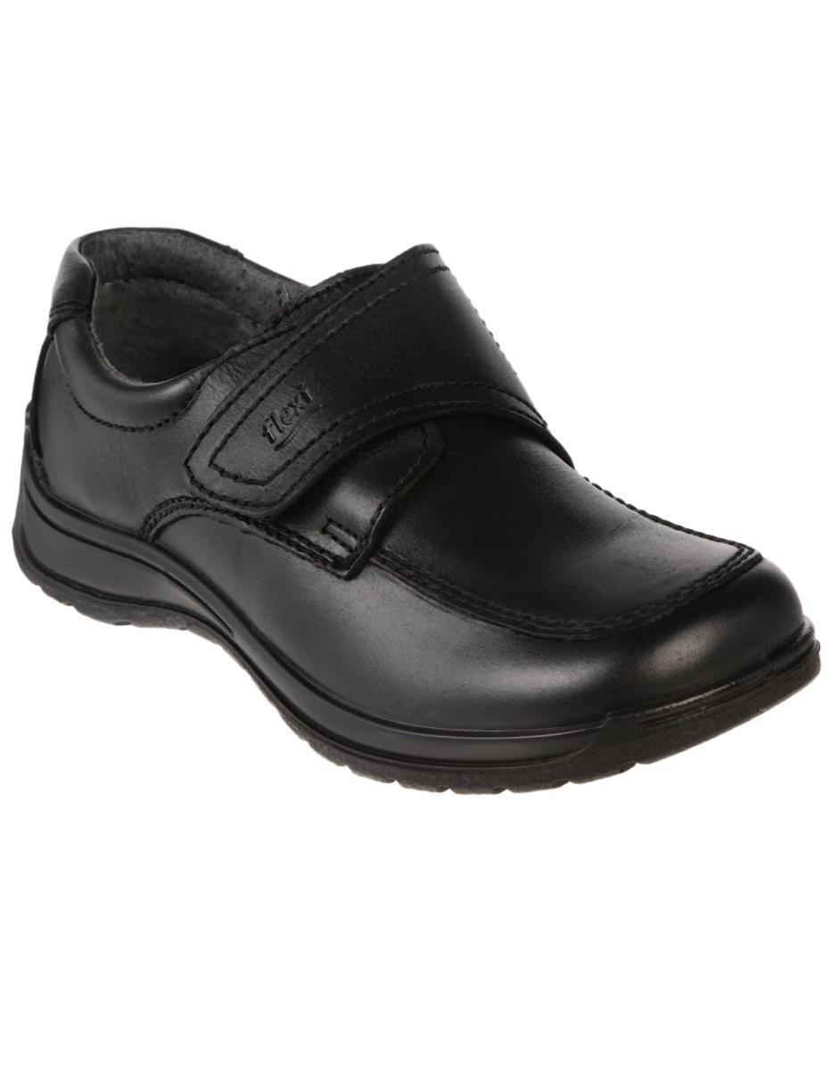 ee9ec3adfe747 Zapato liso Flexi de piel para niño