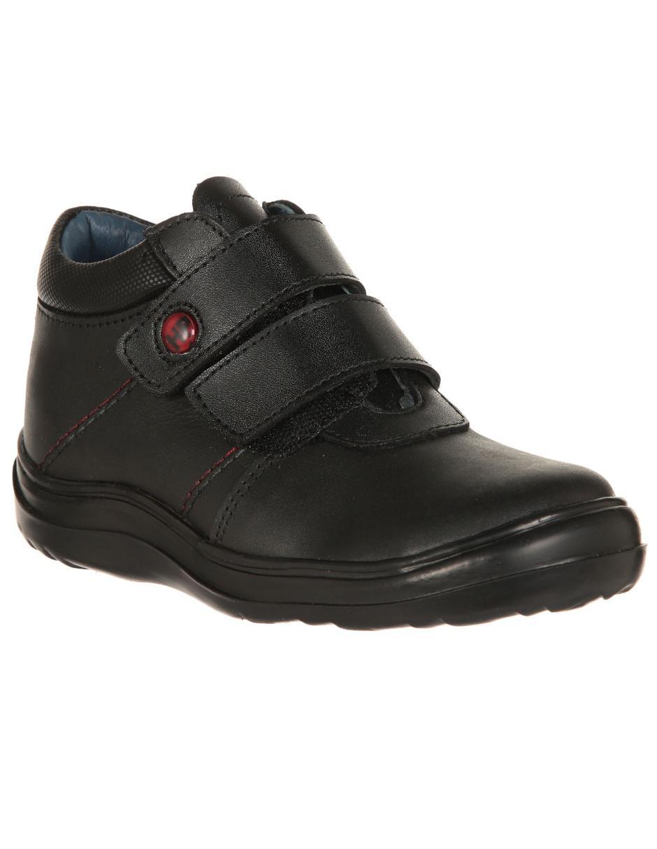 Zapato liso Hush Puppies piel para niño
